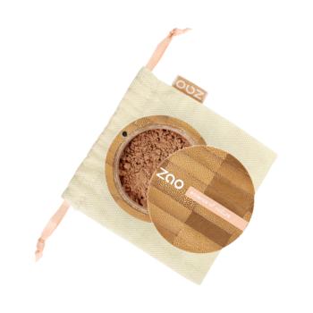 Hodvábny minerálny make-up 506 Brown beige