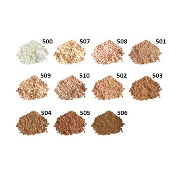 Hodvábny minerálny make-up 504 Neutral beige