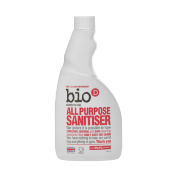 Dezinfekčný univerzálny čistič – náplň, univerzálny čistič, náplň, ekonomické balenie, odmasťuje, pomarančový olej, dezinfikuje, hypoalergénny, citlivá pokožka, eko, bio, vegan, organila, bio-D