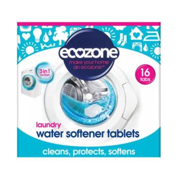 Tablety na zmäkčenie vody, ecozone, zmäkčenie vody, chráni pračku, pred vodným kameňom, bráni usadzovaniu vodného kameňa, eko, bio, vegan