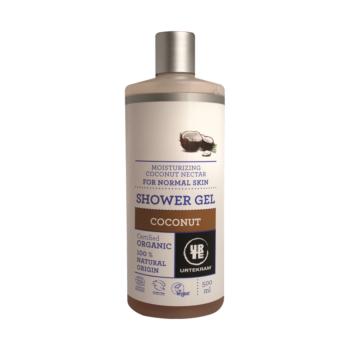 Sprchový gél Kokos, prchový gél, kokos, príjemná vôňa, čistí, hydratuje, nevysušuje, ľahko sa vstrebáva, bio, eko, prírodný, zbojnik paprcka, biokrasa, organila, urtekram