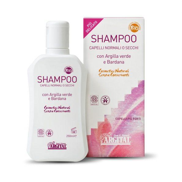 Šampón s lopúchovým koreňom