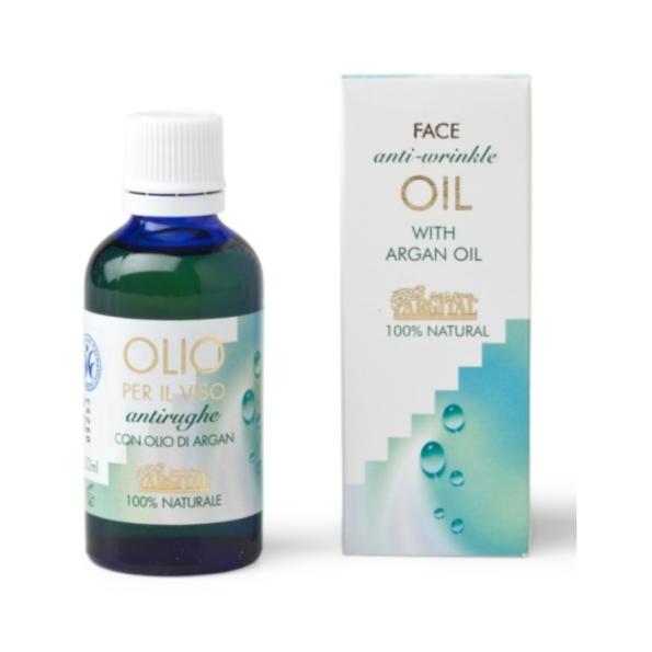 Arganový pleťový olej proti vráskam
