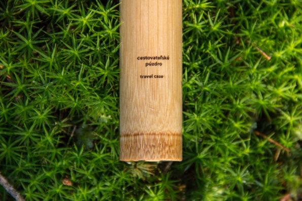 Bambusové púzdro na kefku