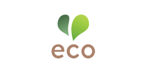 eco heart logo