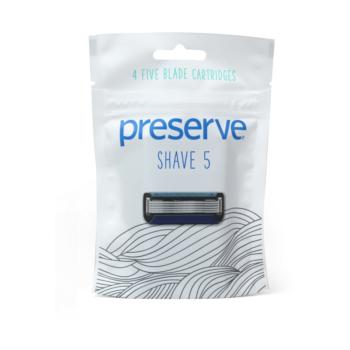 Náhradné žiletky Shave 5 – 4 ks