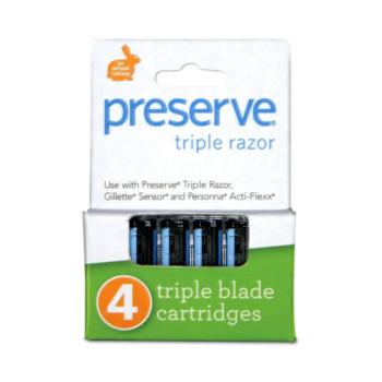 Náhradné žiletky Triple – 4 ks