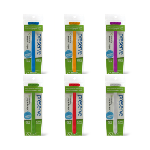 Recyklovateľná škrabka na jazyk – fialová