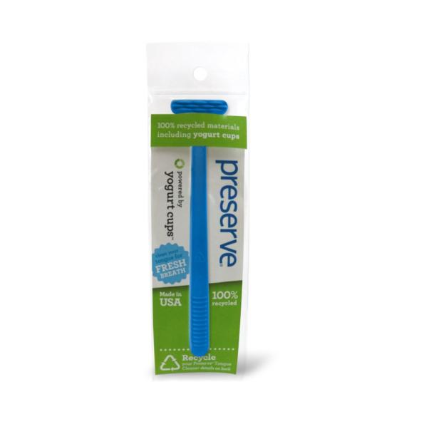 Recyklovateľná škrabka na jazyk – modrá