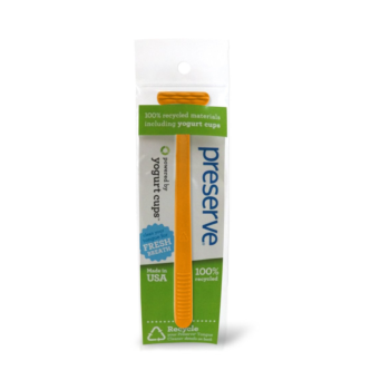 Recyklovateľná škrabka na jazyk - oranžová , ničí baktérie, proti zápachu z úst, čistí ústa, ústna hygiena, zubná starostlivosť, ústna hygiena, zubné pasty, zubné kefky, škrabka na jazyk, čistý jazyk, organila, preserve