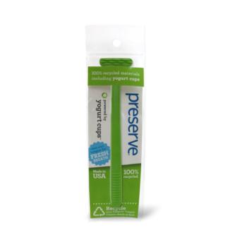 Recyklovateľná škrabka na jazyk - zelená , ničí baktérie, proti zápachu z úst, čistí ústa, ústna hygiena, zubná starostlivosť, ústna hygiena, zubné pasty, zubné kefky, škrabka na jazyk, čistý jazyk, organila, preserve