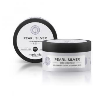 Maska s farebnými pigmentmi Pearl Silver