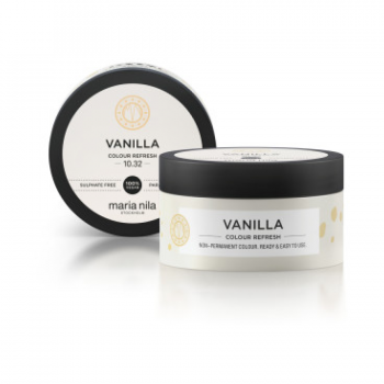 Maska s farebnými pigmentmi Vanilla, maska na vlasy, tónovacia maska na vlasy, farbí vlasy, pigmentová maska, vyživuje, zvýrazní farbu, organila, maria nila