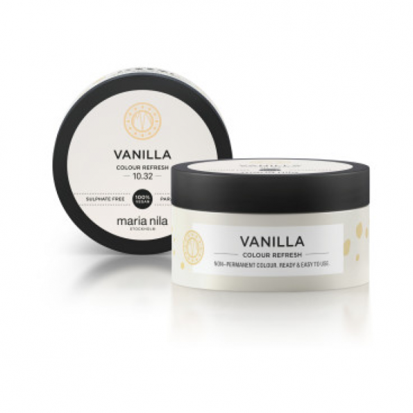 Maska s farebnými pigmentmi Vanilla
