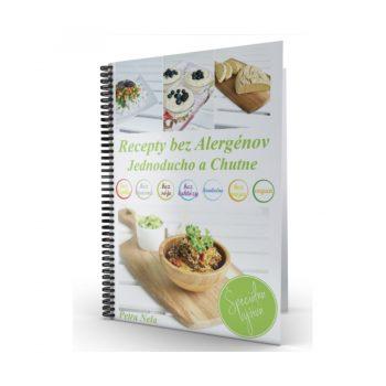 Kniha recepty bez alergénov jednoducho a chutne