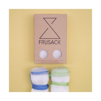FRUSACK duo zelené & modré vrecko