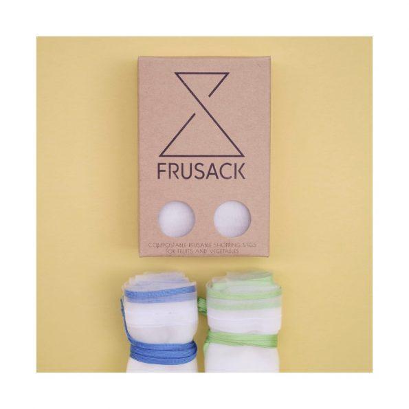 FRUSACK duo modré & modré vrecko