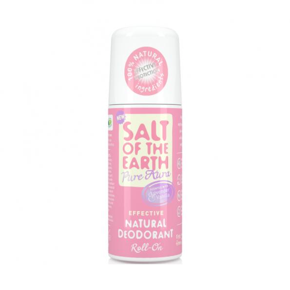 Prírodný kryštálový deodorant roll-on levanduľa, vanilka