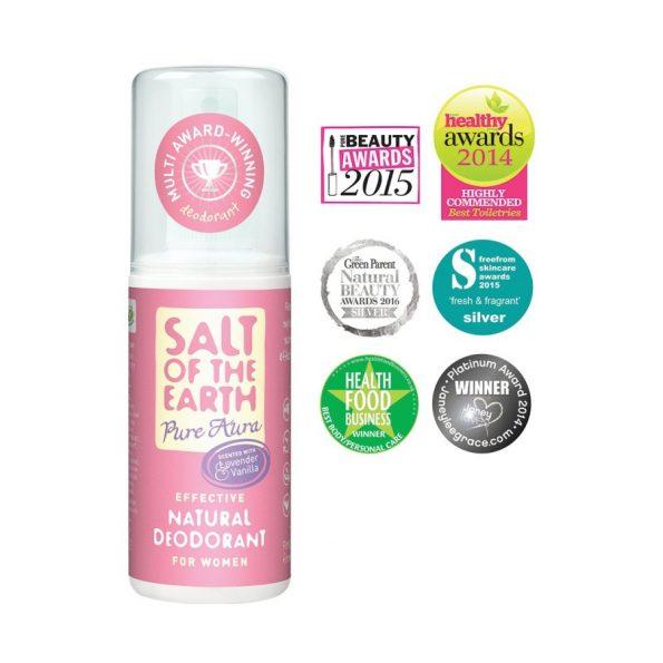 Prírodný kryštálový deodorant v spreji levanduľa, vanilka