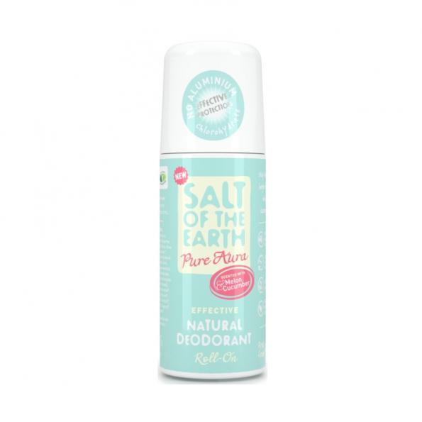 Prírodný kryštálový deodorant roll-on melón, uhorka