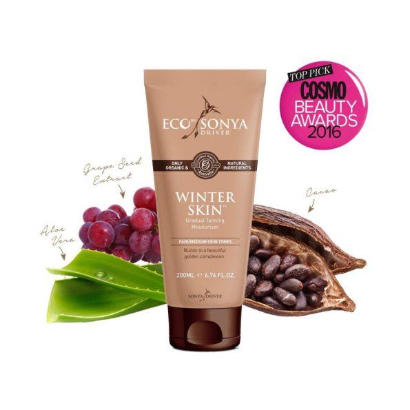 Prírodné samoopaľovacie mlieko – Winter skin