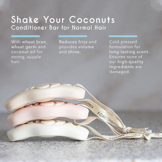 Foamie tuhý kondicionér kokos